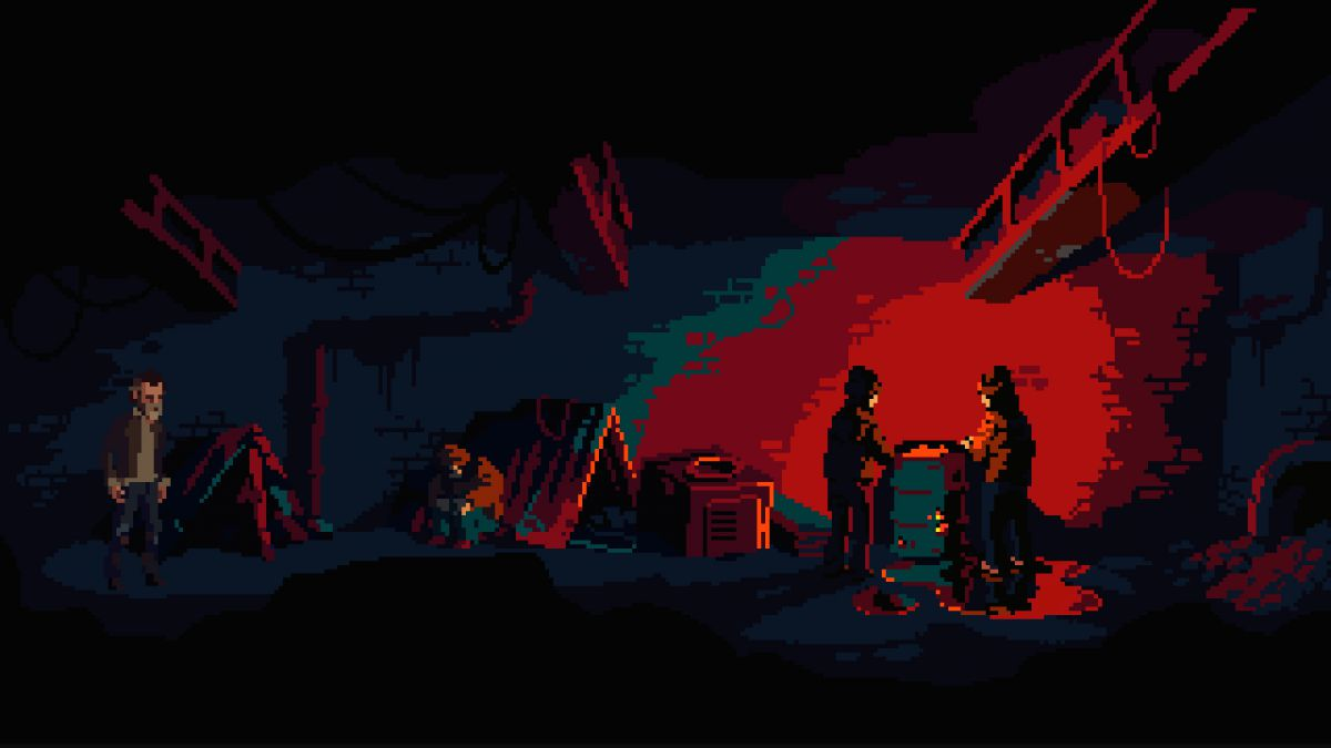 Crawl studio Powerhoof announce The Drifter, a pulpy point-and-click