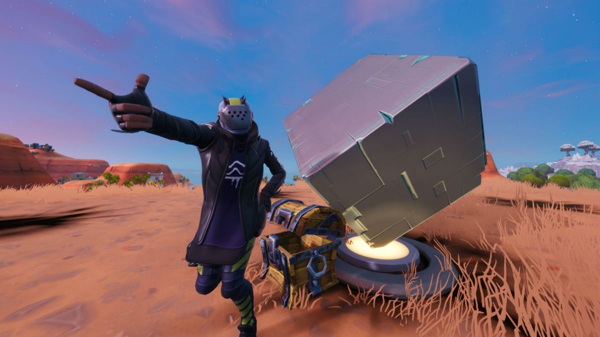 How to find the Fortnite Cube memorial locations