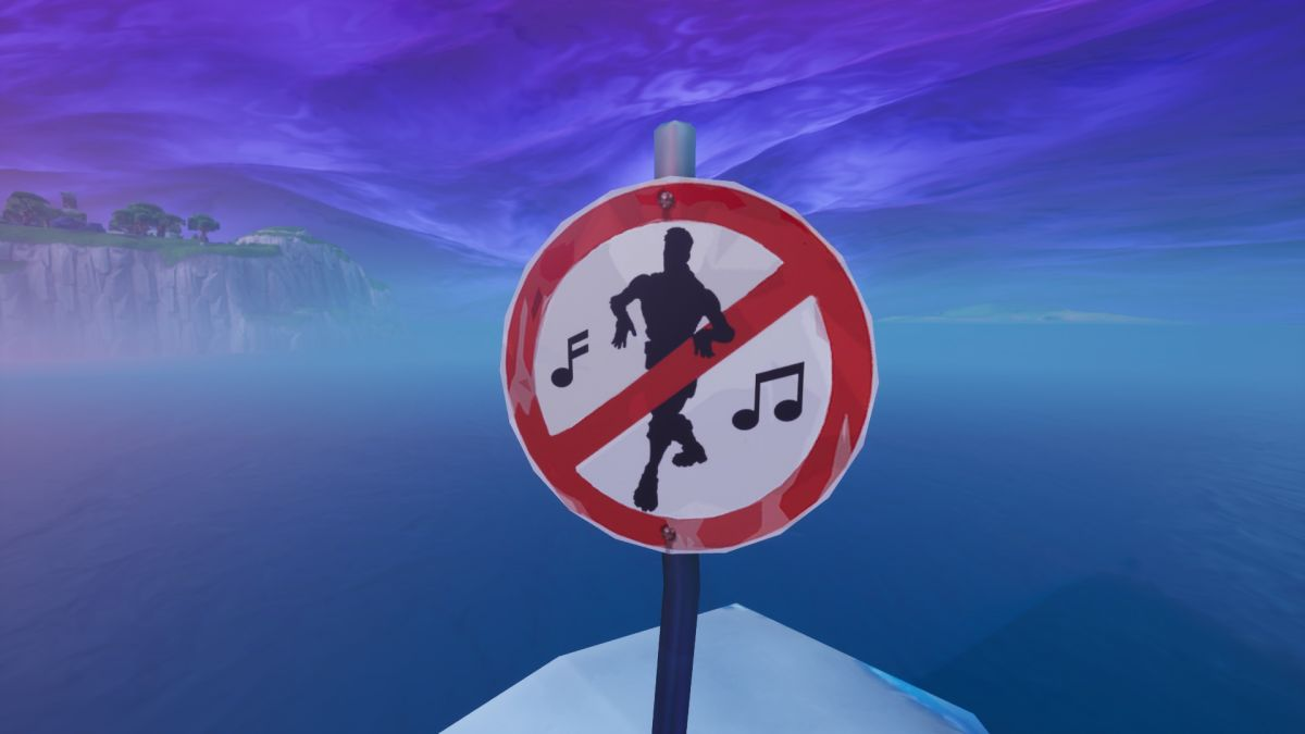 Fortnite Boogie Down mission: No Dancing sign locations