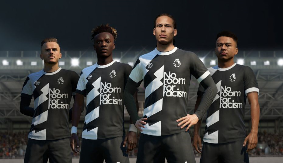 FIFA 20 joins Premier League's 'No Room for Racism' awareness campaign