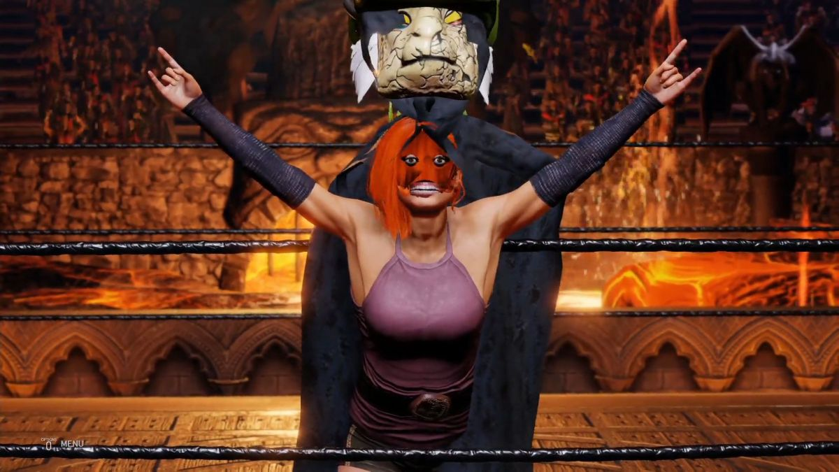 WWE 2K20 is ridiculous   PC Gamer