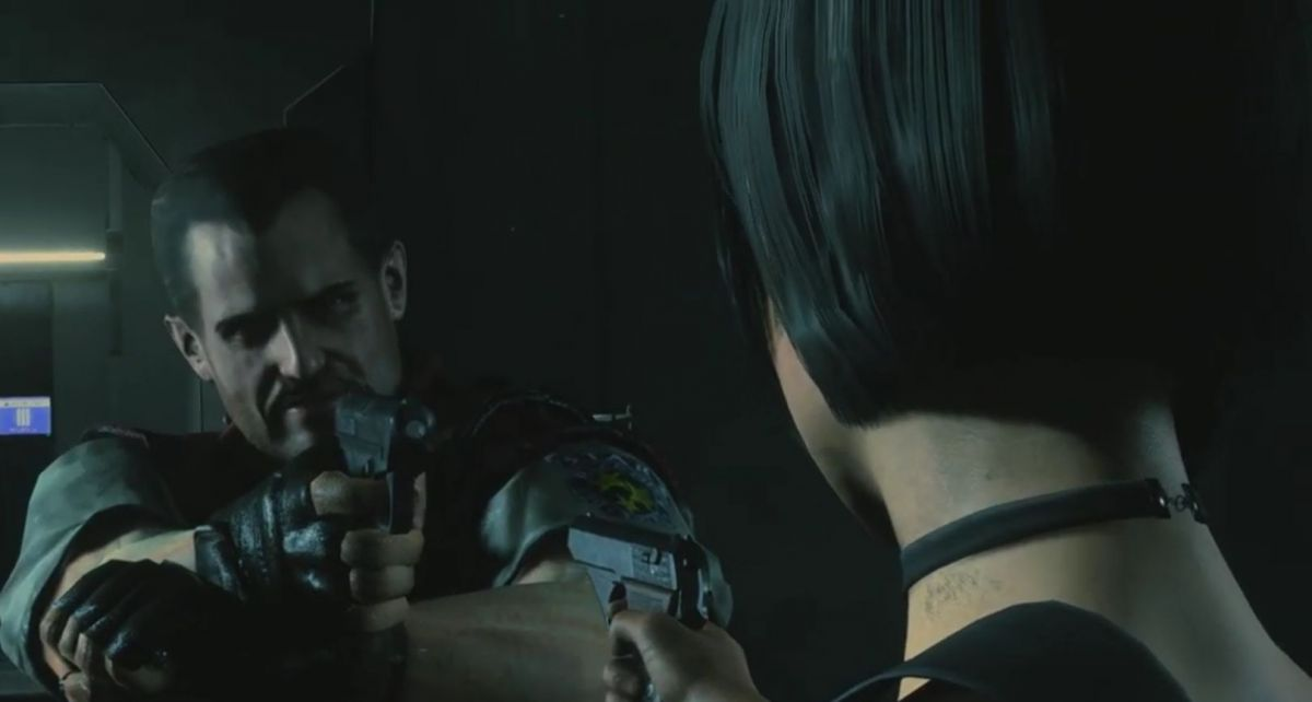 You can play as Barry Burton in Resident Evil 2
