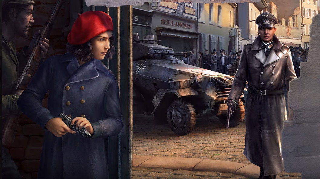 Hearts of Iron 4: La Resistance announced, adds spies and commandos