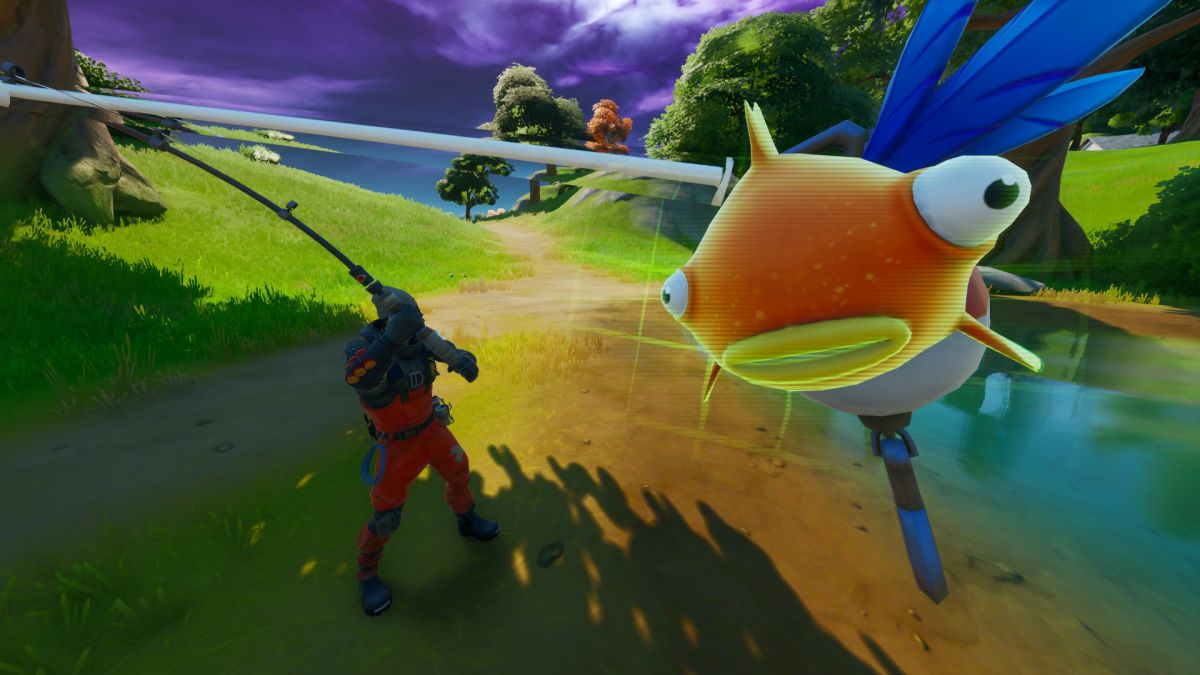 Fortnite's Mythic Goldfish is real and might be the deadliest weapon yet