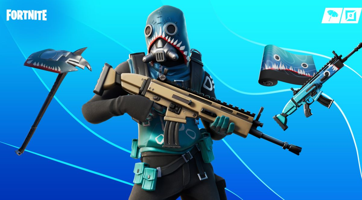 I'm pretty sure Fortnite's newest skin is a failed Metal Gear villain